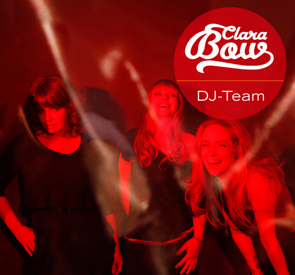 Clara Bow DJ Team - Indie Punk New Wave Pop